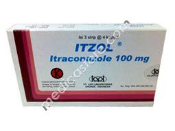 Obat Itraconazole itzol tablet