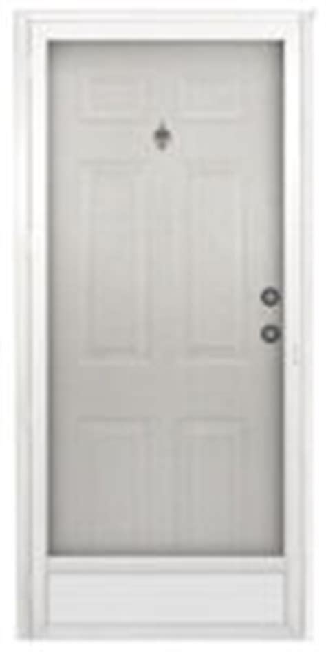 32 quot x 76 quot kinro six panel steel combination exterior door