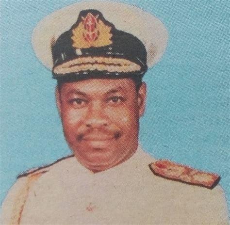 Search Obituaries By Address Major General Rtd Eliud Simon Mbilu Obituaries