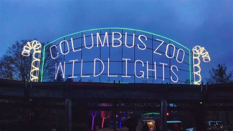 columbus zoo lights admission columbus zoo offering free admission to responders