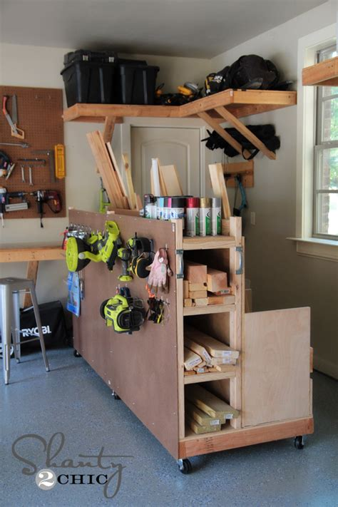 diy garage storage woodwork woodworking projects organization pdf plans