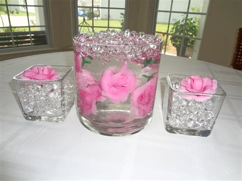 Flowers In Vase With Water by 1000 Images About Diy Centerpiece Candle Ideas On
