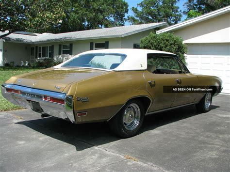 1970 buick skylark custom hardtop 4 door 5 7l