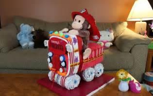 fire truck diaper cake how to make youtube