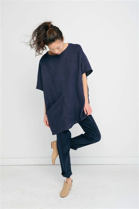 Minimal Tunic Blouse best 25 baggy ideas on