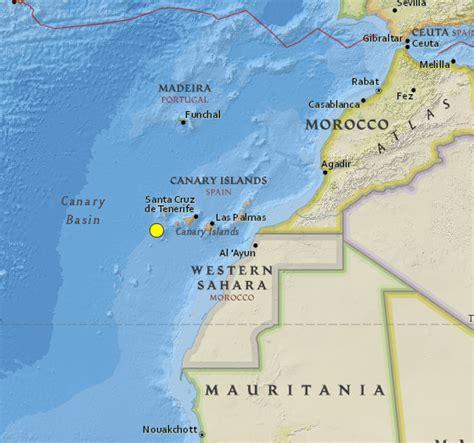 canary island oklahoma earthquakes and canary islands end of december 2013