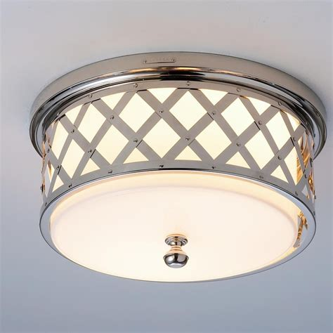 Flush Ceiling Lights For Hallway By Ralph Lattice Ceiling Light 3 Finishes House Ralph