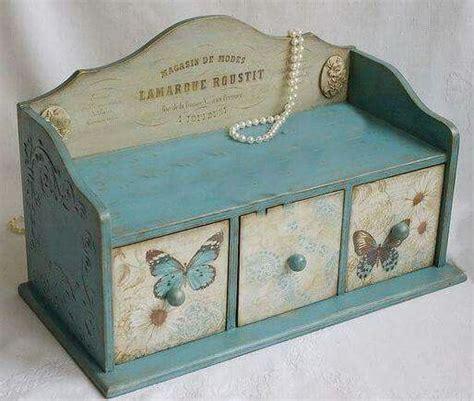 decoupage box ideas pin by yamila santana on manualidades