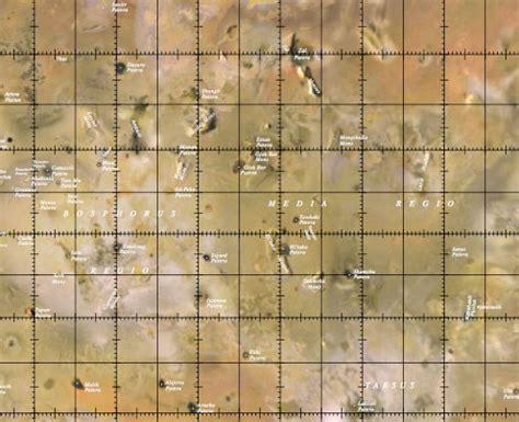 io mapping planetary names io