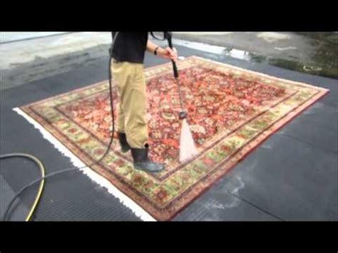 Pressure Wash Area Rug how to clean an carpet part 9 the pressure wash