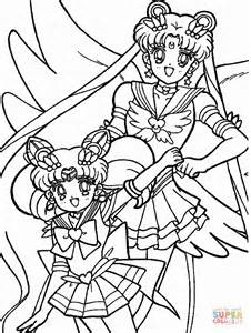 sailor moon coloring book coloring book for and adults 60 illustrations best coloring books volume 31 books sailor chibi moon and usagi tsukino coloring page free