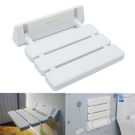wall mounted folding shower bench different price wall mounted foldable stool bathroom