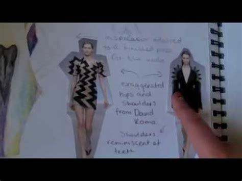 fashion design university interview questions exle art portfolio for entry into fashion design degree