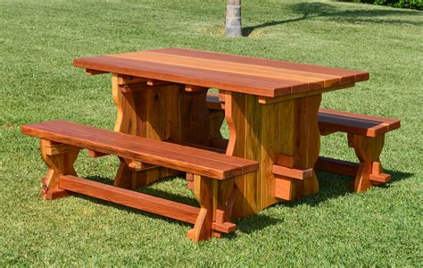 natural wood bench outdoor natural wood outdoor dining table with benches
