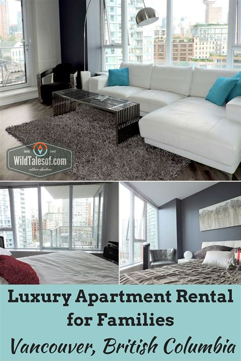 Vancouver Appartments by Luxury Apartment Rental For Families Vancouver Bc