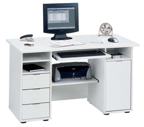 White Desk For Desktop Computer L Shaped Gaming Computer Desk