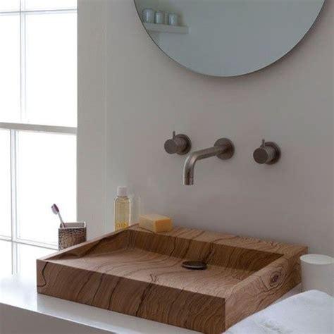 wood bathroom sink wooden modern sink bathroom architecture bathroom