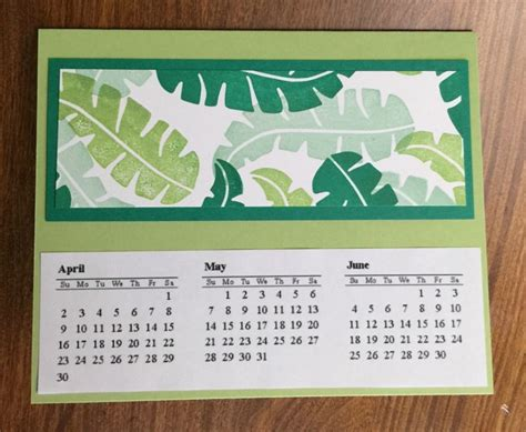 stin with tammi rectangle card in a box template handmade calendar gift idea karentitus 28 images 17