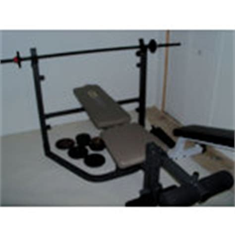 Weider Pro 208 Weight Bench 12 09 2010