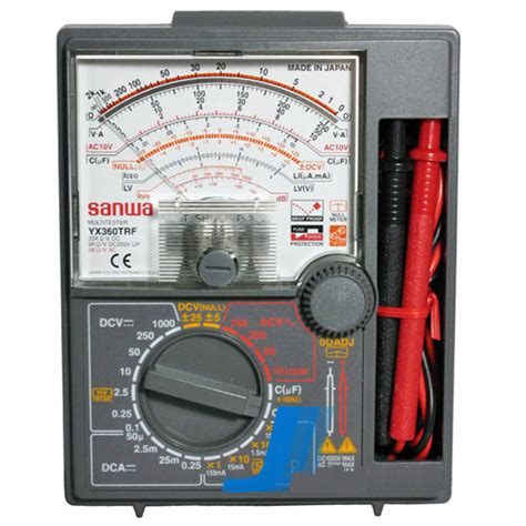 Multitester Analog sanwa analog multimeter www pixshark images