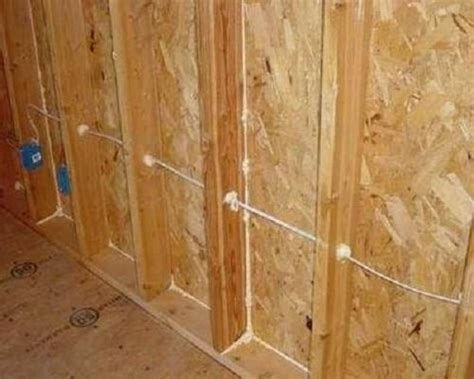 electrical electrical wiring running through wall how to