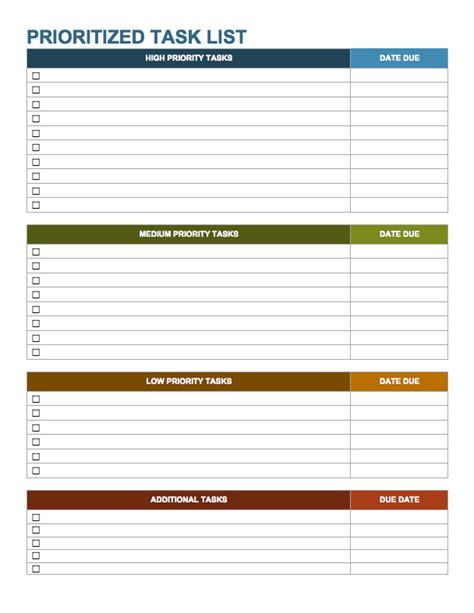 a nice and simple to do list template save word templates