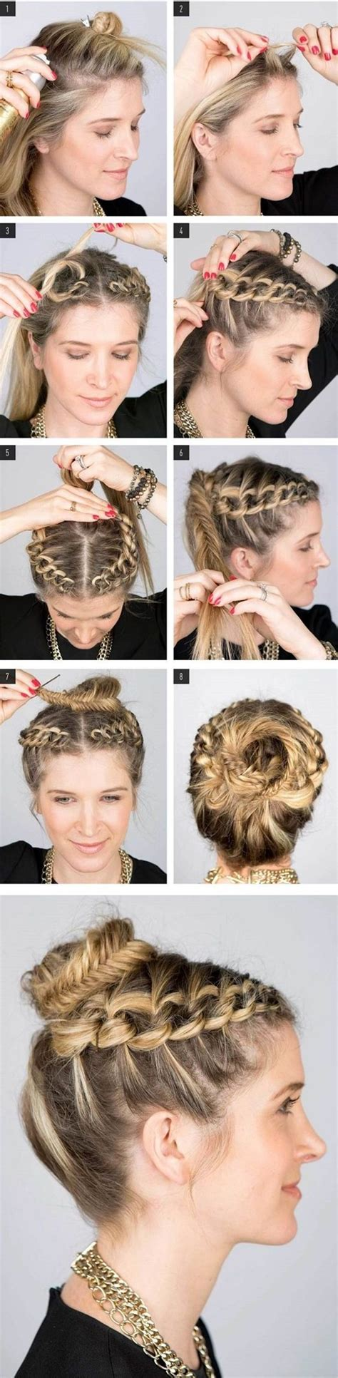 Hairstyles For Hair Step By Step Easy by 40 Easy Step By Step Hairstyles For