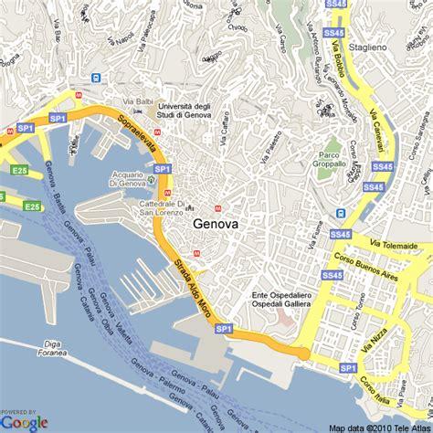 map of genoa italy map of genoa italy hotels accommodation