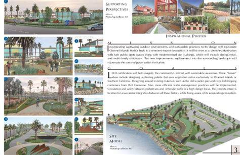 portfolio landscape layout landscape architecture portfolio