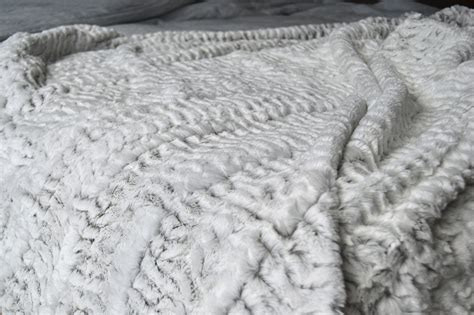 faux fur bed throw white faux fur throws blankets natural bed company