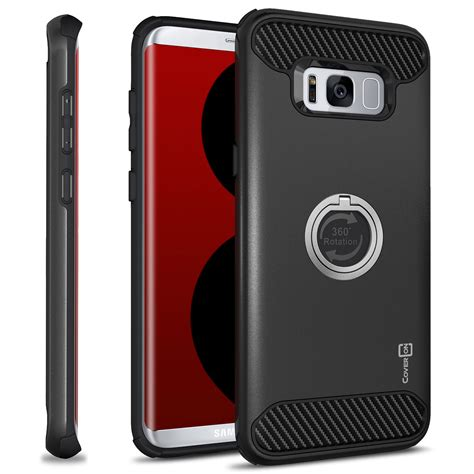 Hardcase List Emas For Samsung S8 for samsung galaxy s8 hybrid armor protective ring phone