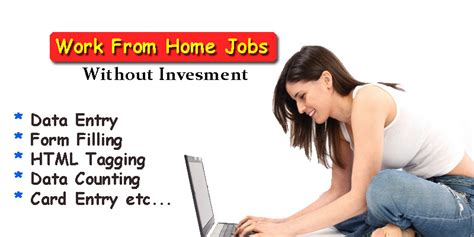 Online Work From Home Without Investment - online part time jobs from home without investment newhairstylesformen2014 com