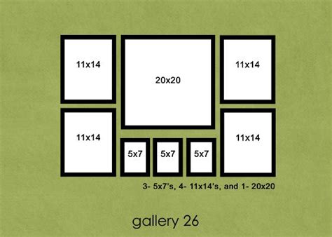 gallery wall template family room wall arrangement i need something our