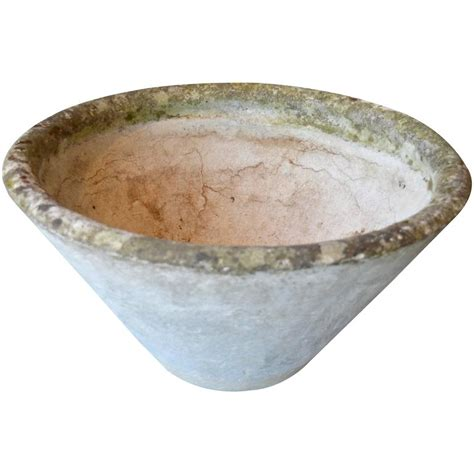 Shaped Planters For Sale by Willy Guhl Cone Shaped Planter For Sale At 1stdibs