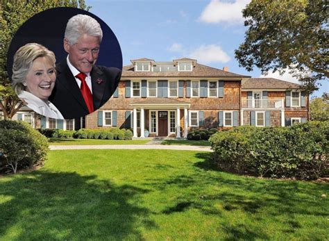 clinton houses 10 clinton htons real estate bill and hillary clinton