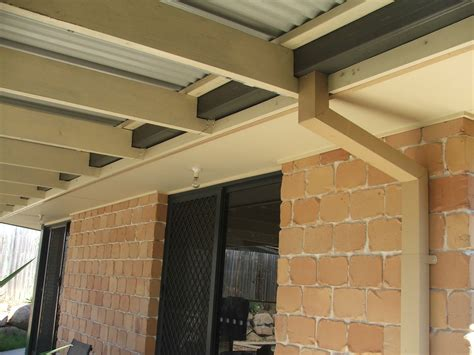 Spanline Sheds by Structural Inspections 1 New Patio Roof Added Without