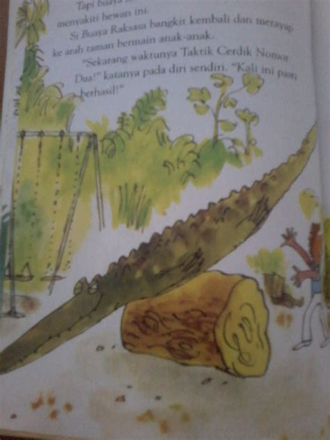 Japit Buaya Kecil Jepitan Crocodile Kecil the enermous crocodile si buaya raksasa rumah baca