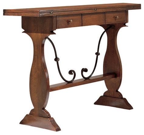 tuscany sofa table tuscan extending console table traditional console
