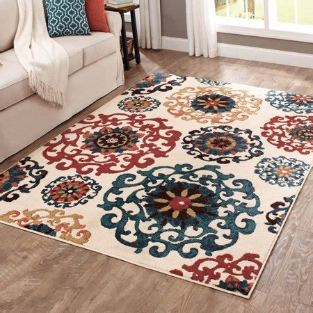 10 X 10 Rug Walmart - better homes and gardens suzani area rug 6 7 quot x 10