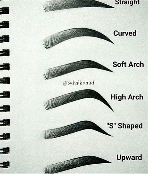 printable eyebrow stencils pdf 15 signs your bold brows look fake gurl com gurl com