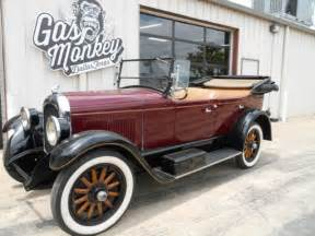 how do i learn about cars 1926 chrysler imperial parking system 1926 chrysler f58 touring convertible offered by gas monkey garage for sale photos technical