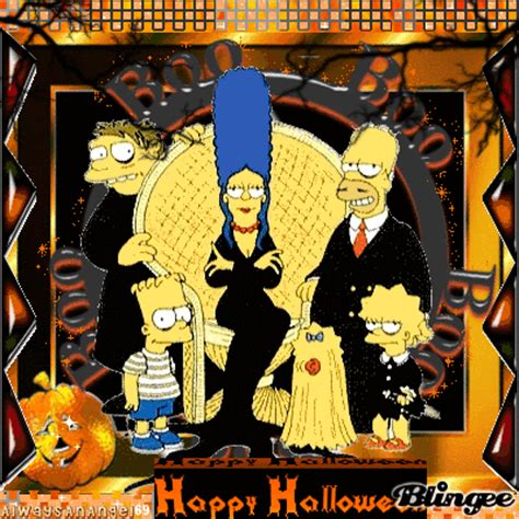 imagenes simpson halloween happy halloween from the simpsons fotograf 237 a 100950695