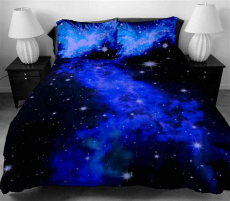 galaxy bed spread galaxy bedding set tumblr