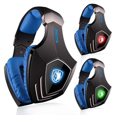 Headphone Gaming Sades sades a60 gaming headset