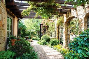 Spanish Home Plans With Courtyards tuscan garden ashley flickr