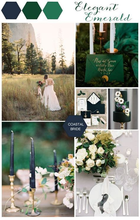 Emerald Navy 20 emerald green wedding ideas wedding