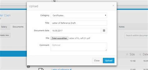 document management hr software personio