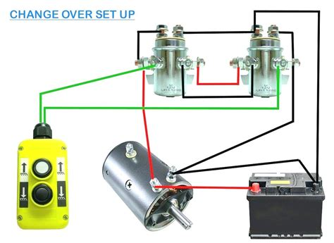 12 volt solenoid wiring diagram size of warn winch