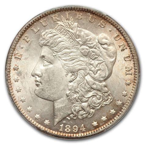 1894 silver dollar 1894 dollar ms 61 pcgs key date recently added