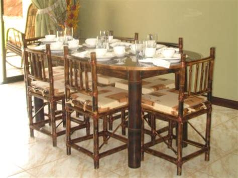 Bamboo Dining Room Set Stunning Bamboo Dining Room Furniture Gallery Mywhataburlyweek Mywhataburlyweek